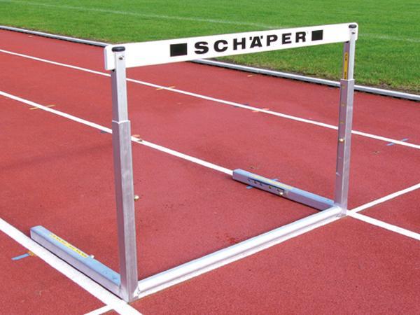 Wettkampfhürden (Alu), Hürdenleiste eingelassen, World Athletics & TÜV Zertifikat