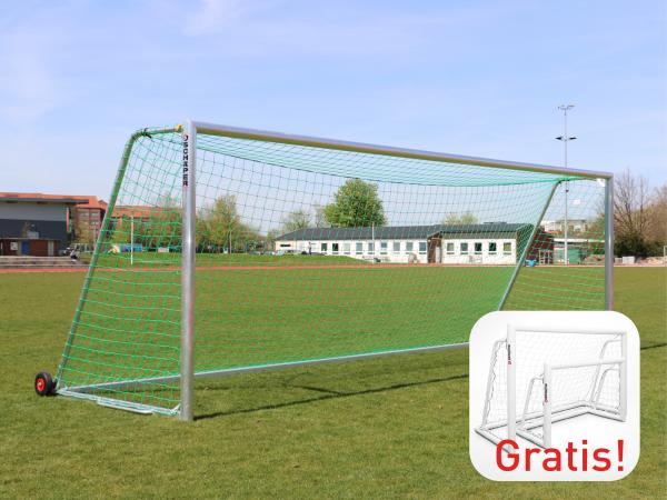 "Trainings-Fußballtor ""All inclusive"" + GRATIS Minitor"